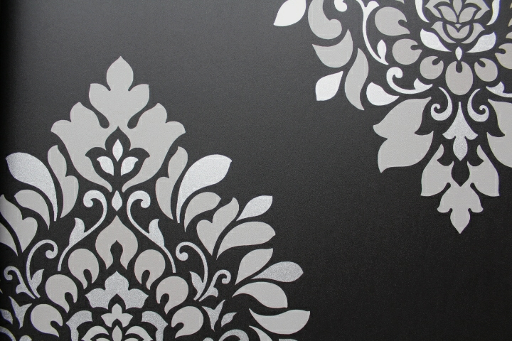 Traditional Classic Damask Wallpaper Barncroft Wallpaper