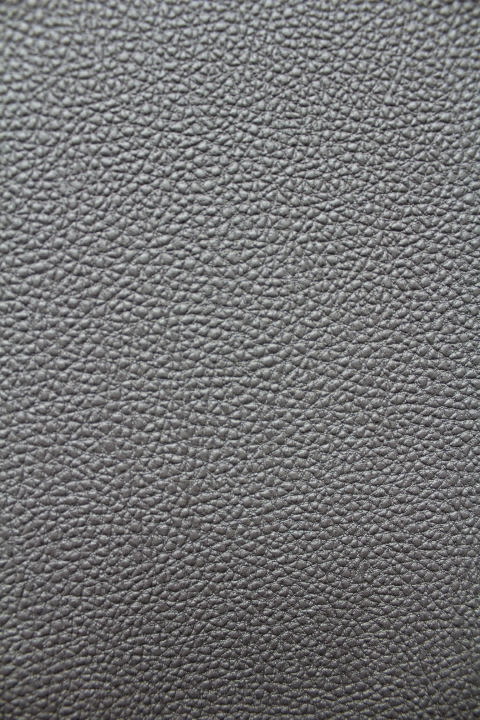 Silver Faux Leather Wallpaper COS576G023