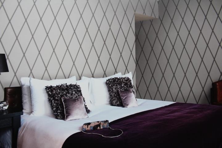 grey diamond wallpaper