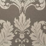 taupe traditional wallpaper