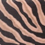 brown black zebra skin effect