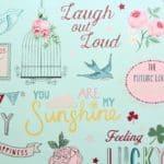 girls' wallpaper