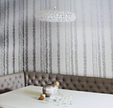 metallic striped wallpaper