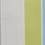 turquoise and lime striped wallpaper