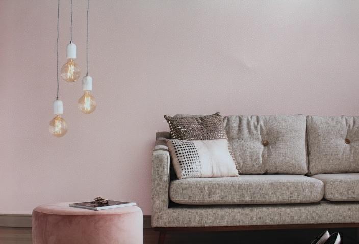 pastel pink glitter wallpaper