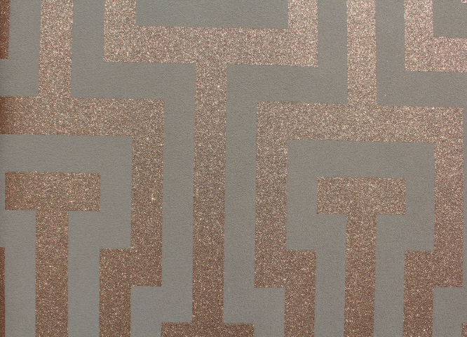 Taupe And Bronze Sparkle Wallpaper GL411G37