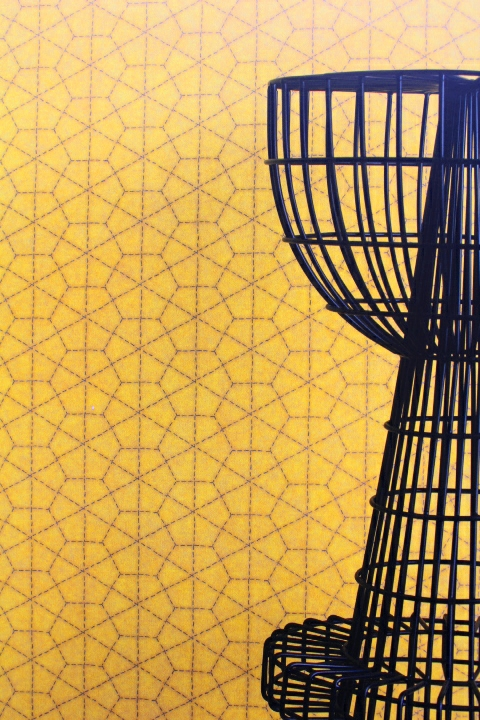 yellow geometric