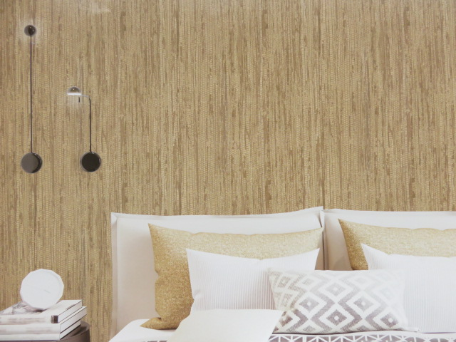 natural split bamboo wallpaper design