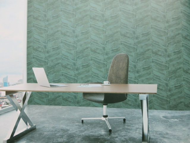sea green textured wallpaper