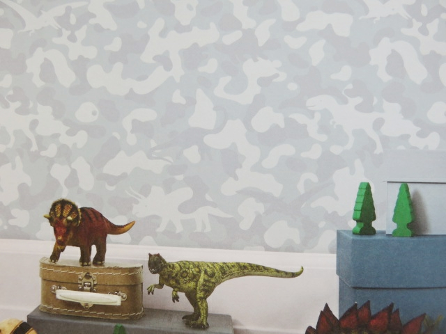 find a dinosaur children's wallpaper