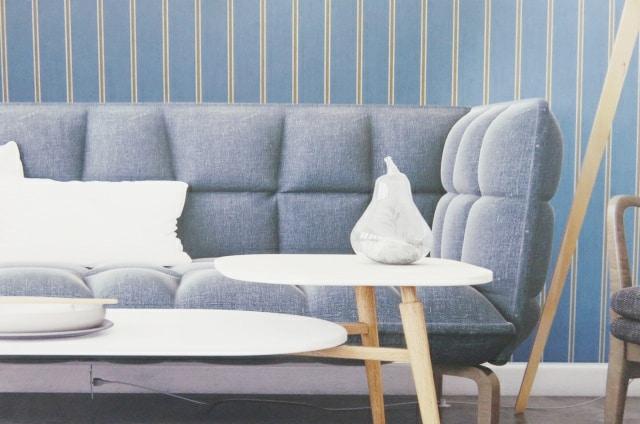 wall image striped wallpaper