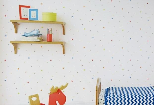 children's star wallpaper