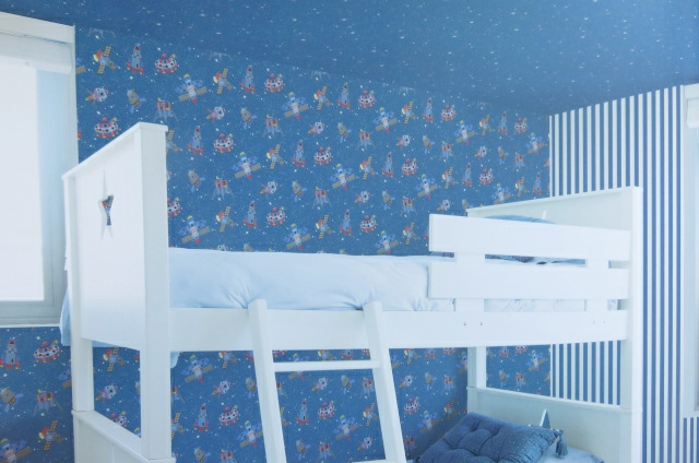 blue space wallpaper
