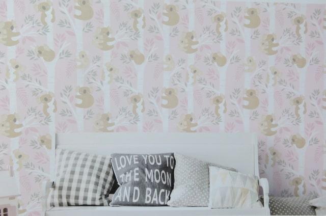 pink koala bear wallpaper